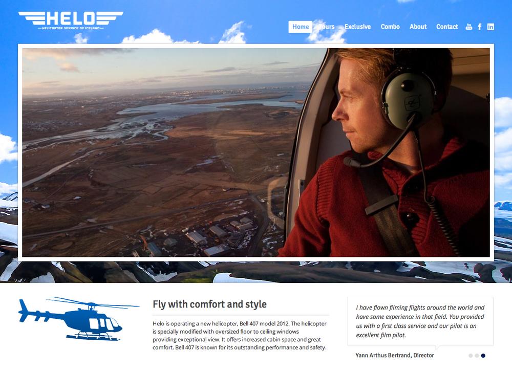 Flying over Mosfellsbær, Reykjavik in the background.