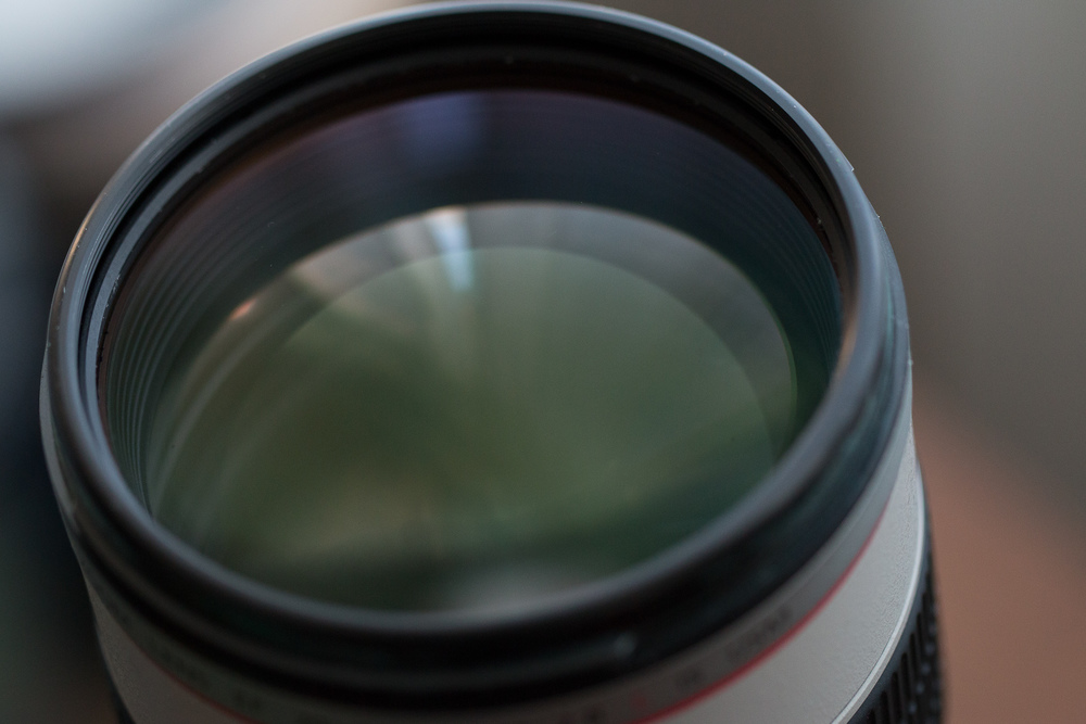 CLEAN lens after removing the filter :)