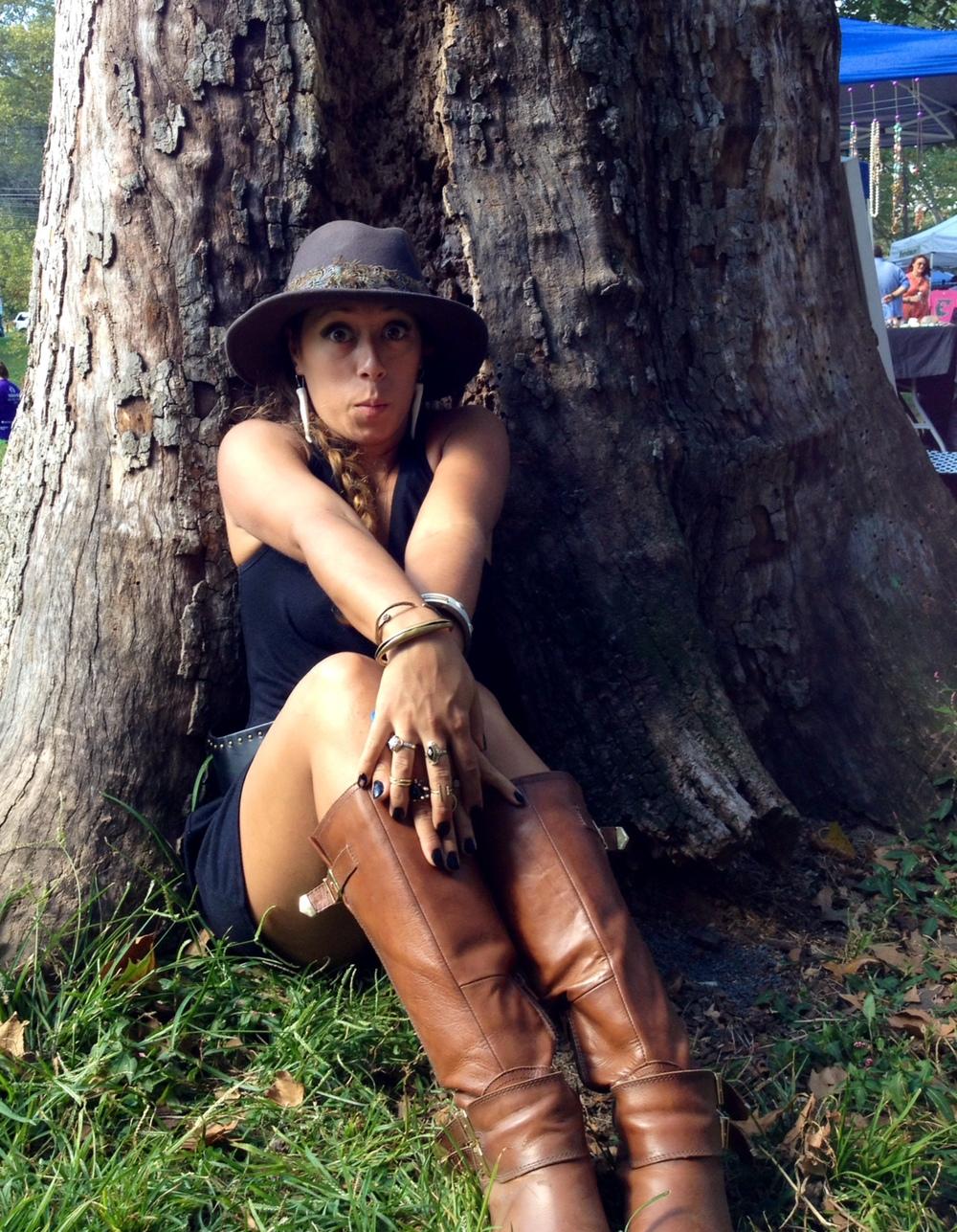 tree pose I