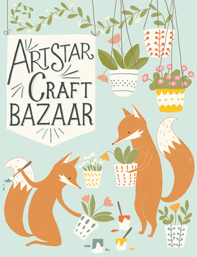 14th Annual Spring Art Star Craft Bazaar is back again on Mother's Day Weekend. Shop for Mom on Saturday and bring her along on Sunday for a fun, family day at the waterfront!  Free to attend / Rain or Shine