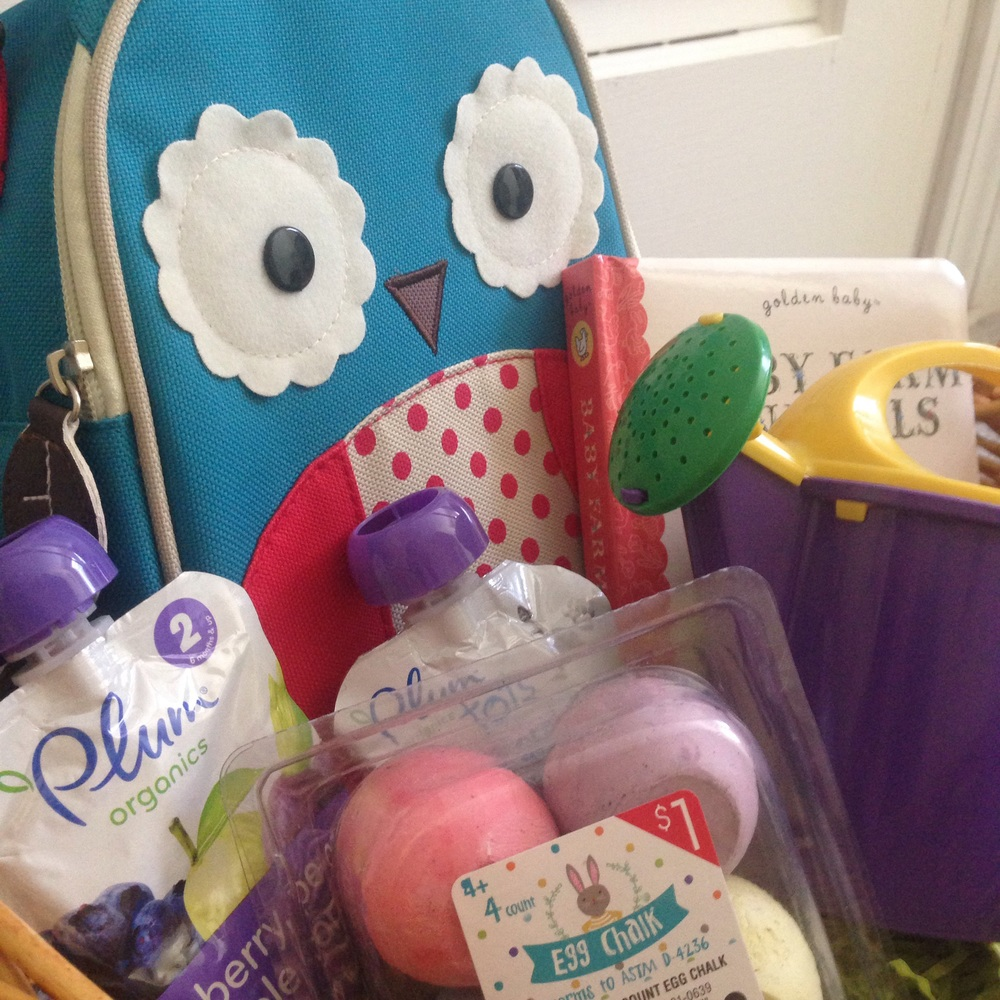 Young toddler easter basket ideas blog birch landing home cheap ideas for a cute toddler easter basket negle