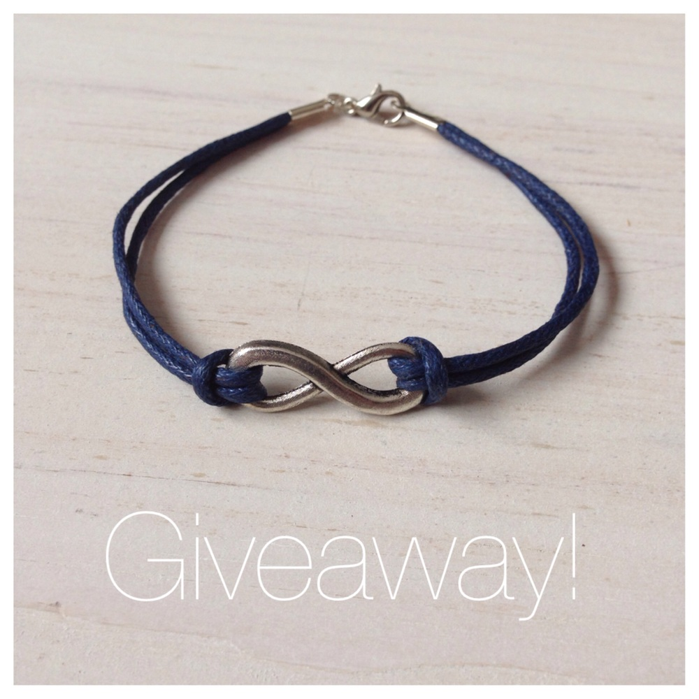 Infinity Bracelet Giveaway from Birch Landing Home on Instagram