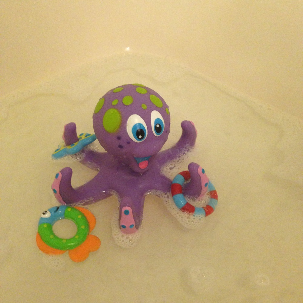 Nuby's Octopus Floating Bath Toy