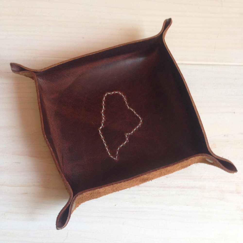 Maine Leather Co. - great leather goods made in Maine