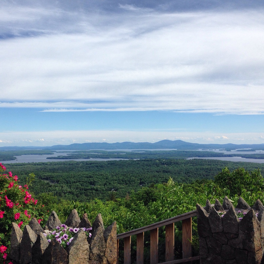 Yankee Magazine's My New England Summer:  The view from Castle in the Clouds