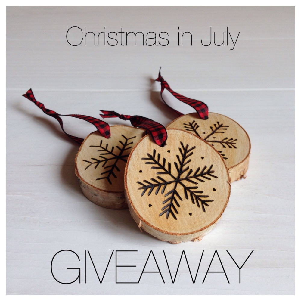 Giveaway ends 7/31/15 at 2PM EST.