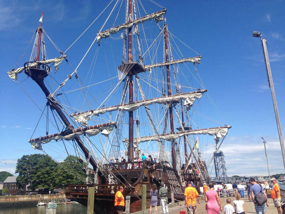 Seeing the Tall Ships in Portsmouth, NH is a must!
