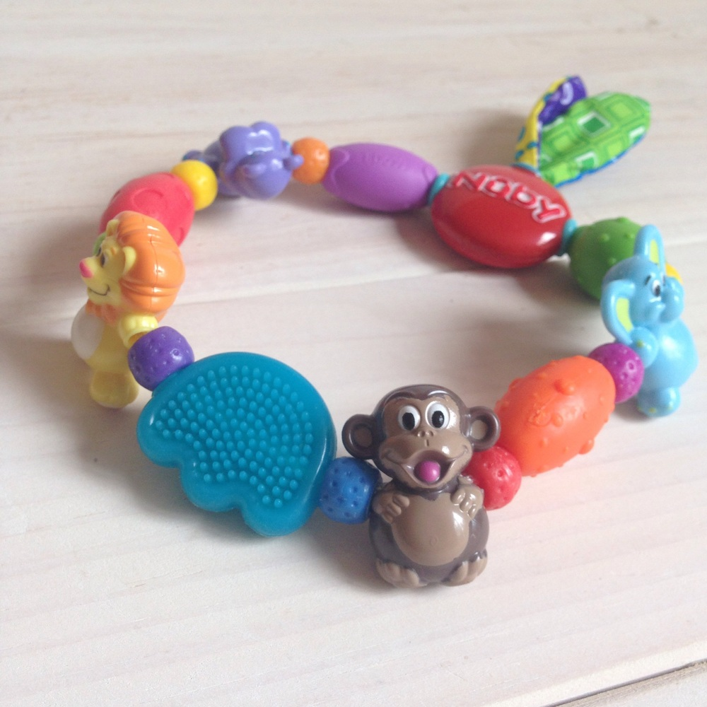 Safari Loop Teether by Nuby