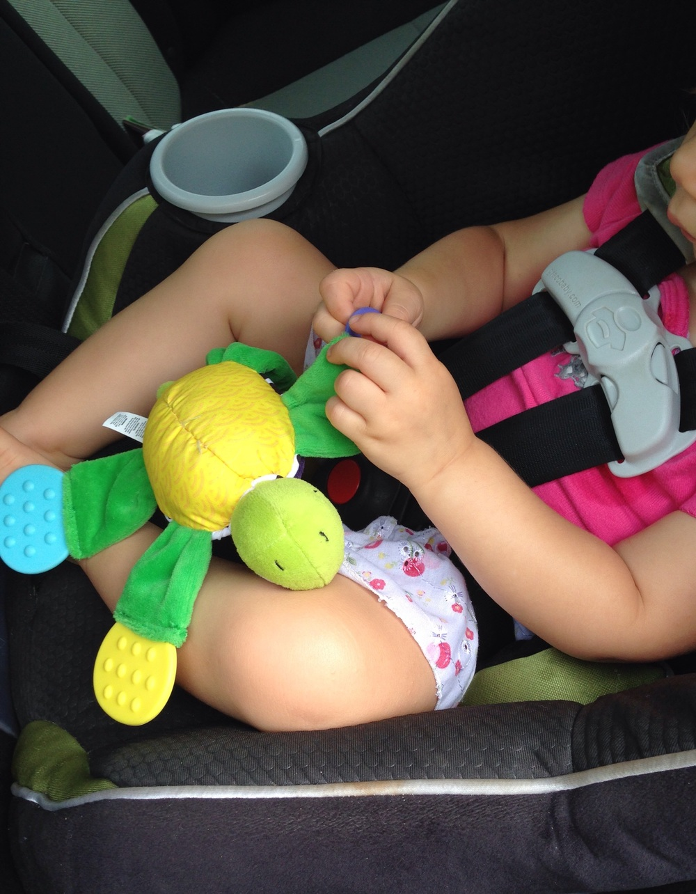 A great teether for car rides!