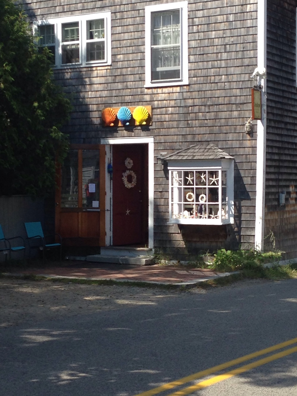 Lots of cute shops to explore in Ogunquit, Maine
