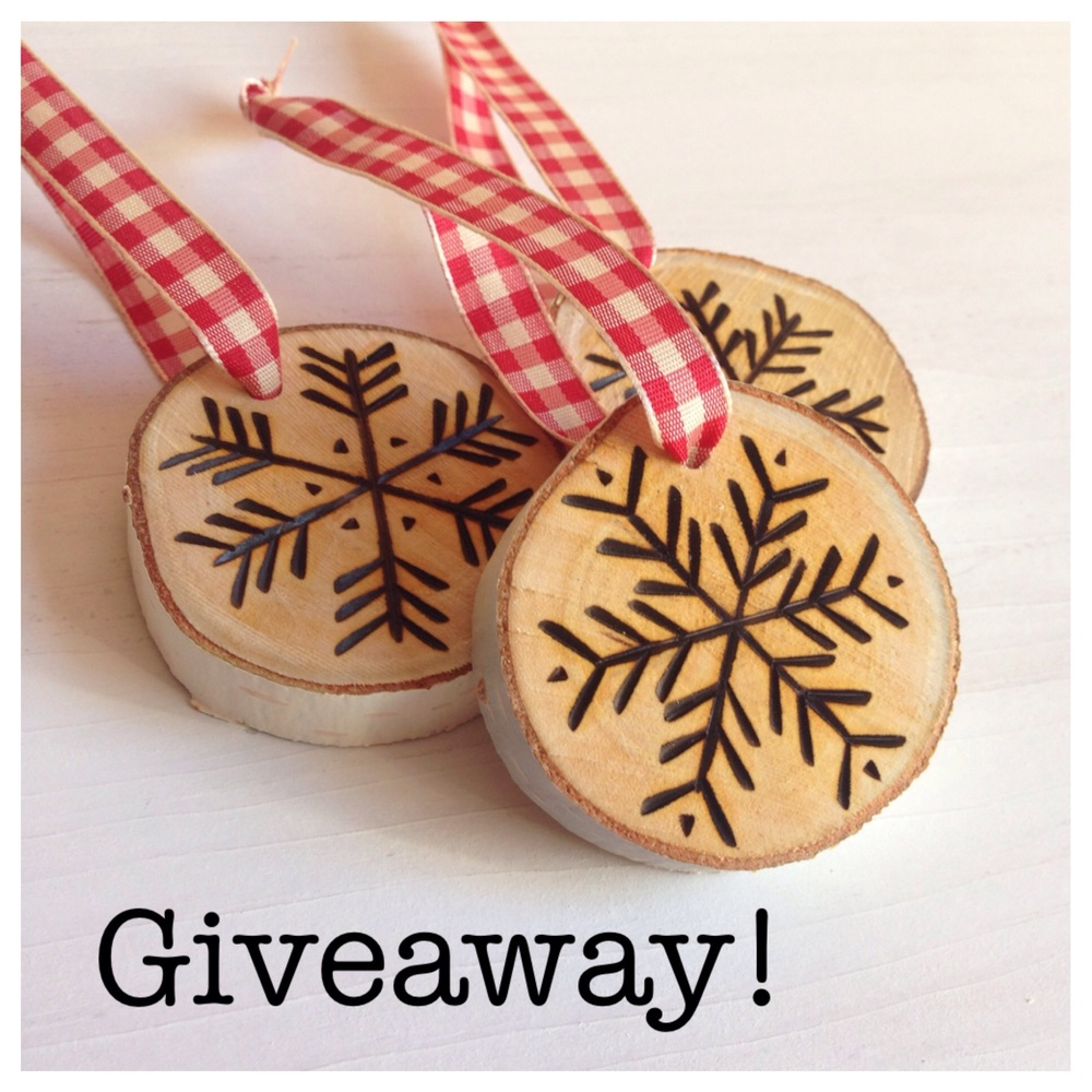 Birch Landing Home Giveaway with Seacoast Lately - handmade ornaments