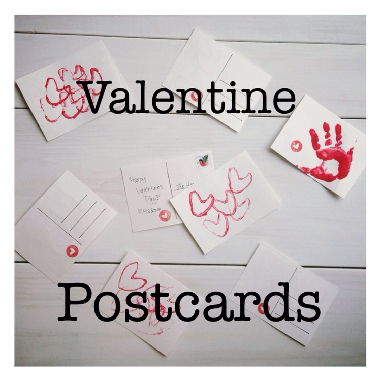 diy valentine postcards perfect project for toddlers and kids