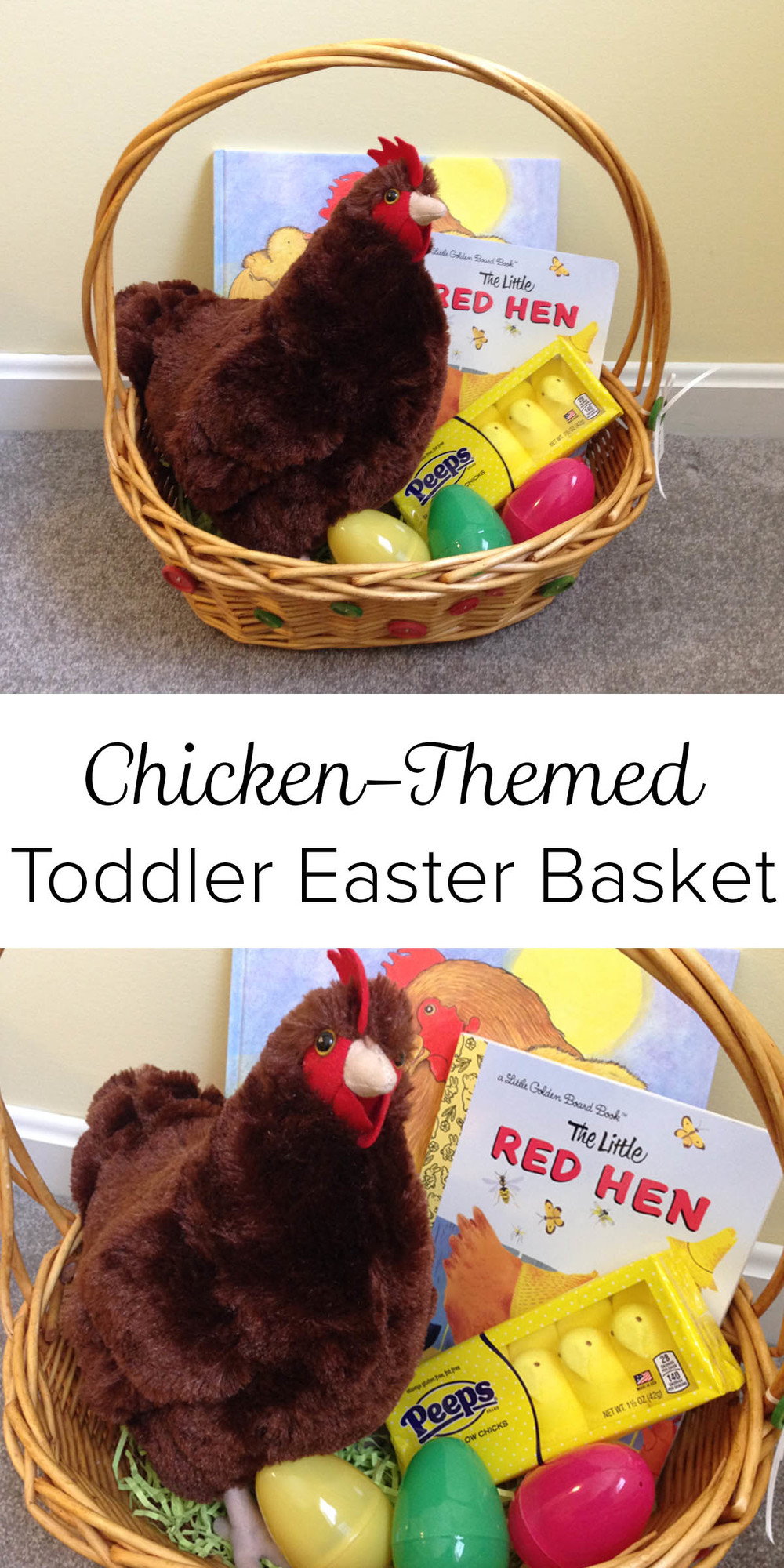 Chicken themed toddler easter basket blog birch landing home chicken themed toddler easter basket negle Choice Image