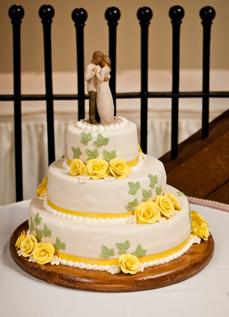 """  Willow Tree """"Promise"""" Cake Topper  """