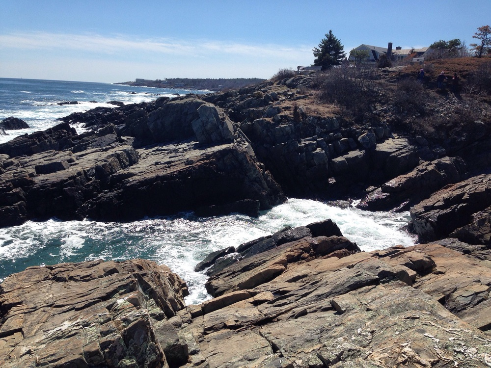 The views along the Marginal Way are breathtaking.