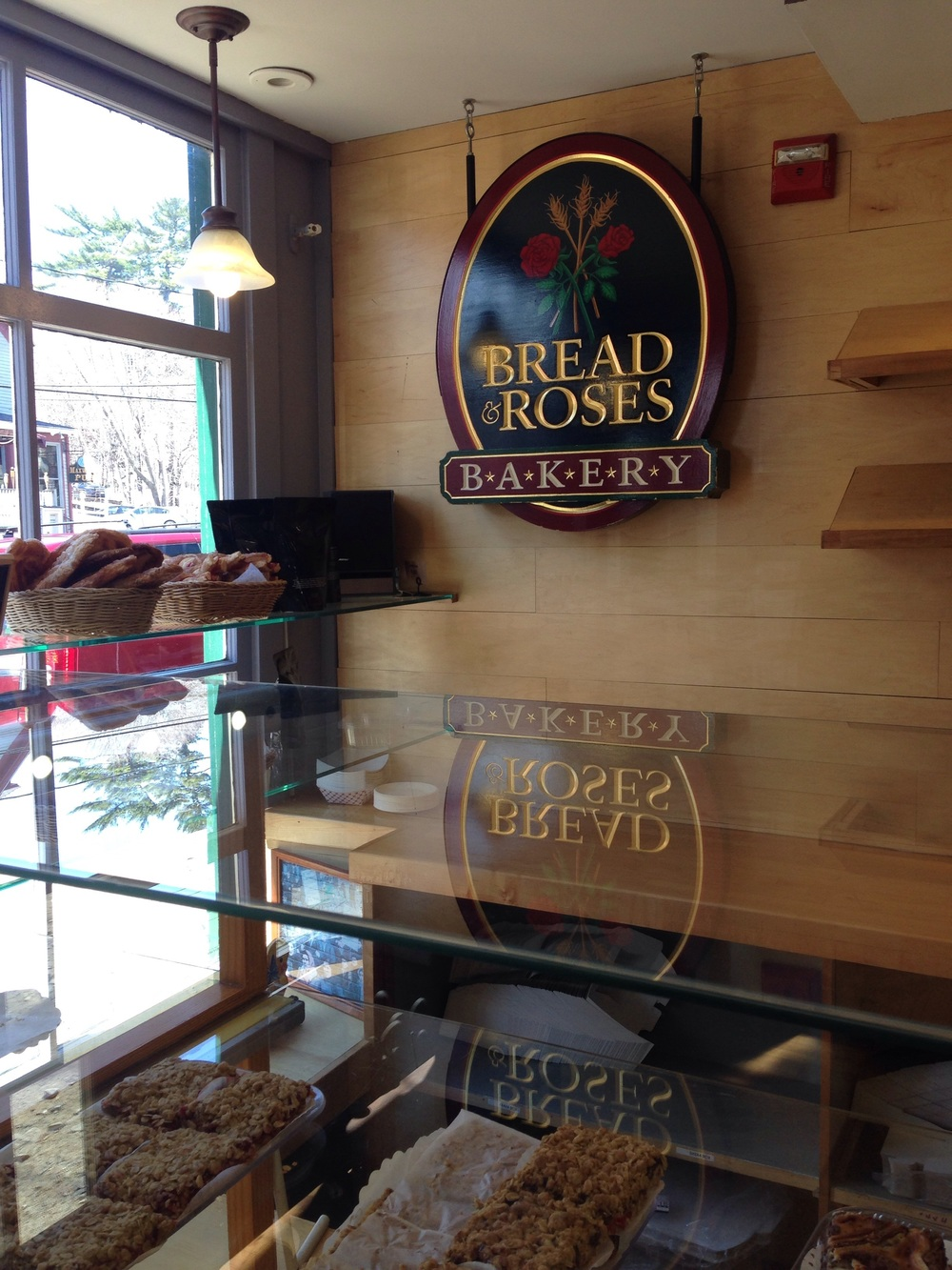 Bread & Roses Bakery - so much deliciousness!