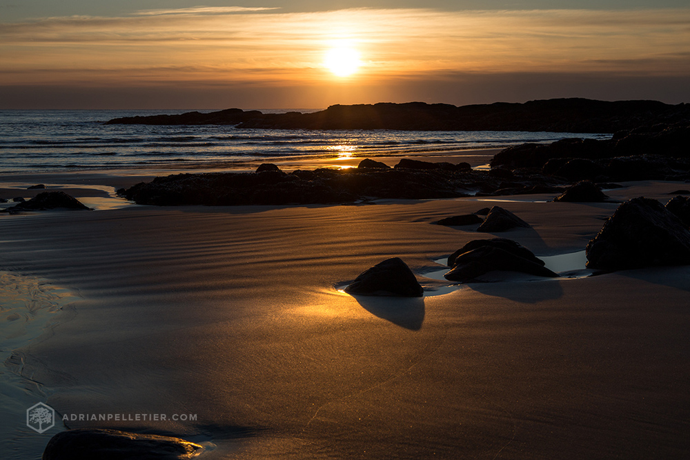 Sunrise over Ogunquit Maine by Adrian Pelletier