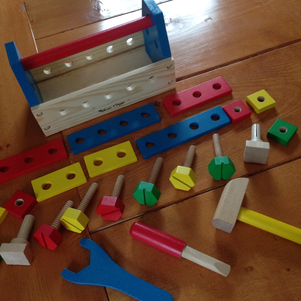 Our latest FREE Pampers Reward - a Melissa and Doug Tool Kit!