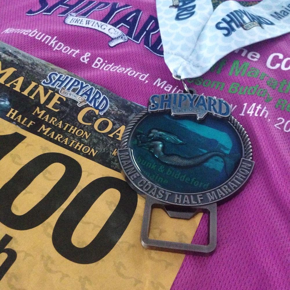 Shipyard Maine Coast Half Marathon 2016