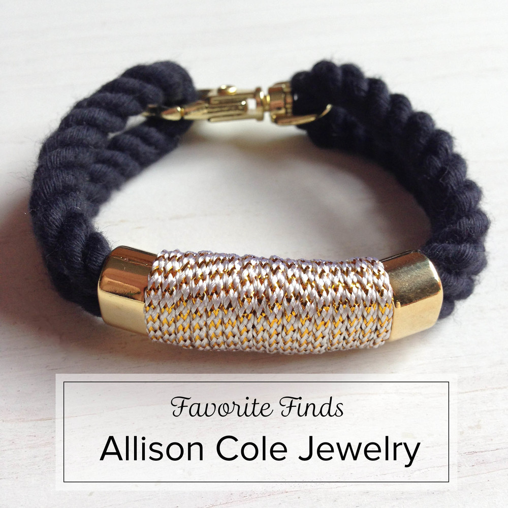 Favorite Finds - Allison Cole Jewelry + Giveaway!