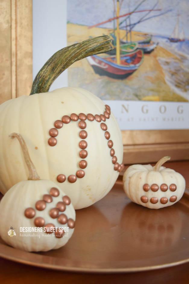 Nail Head Pumpkins
