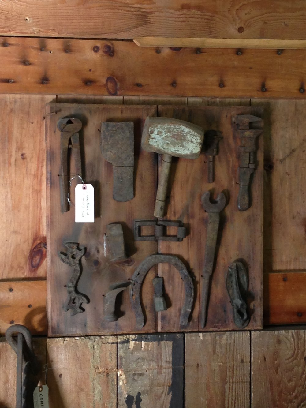 Old tools at Fryeburg Fair