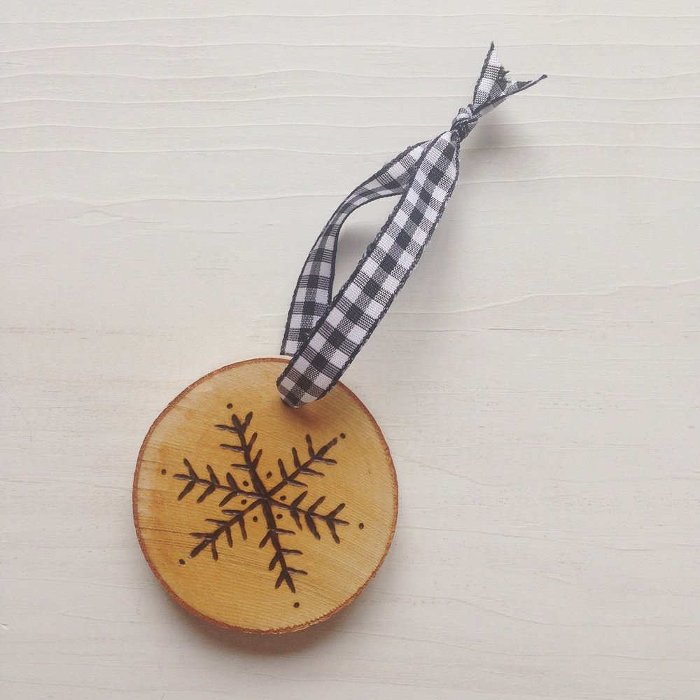 "Birch ""Martha"" Snowflake Ornament by Birch Landing Home"