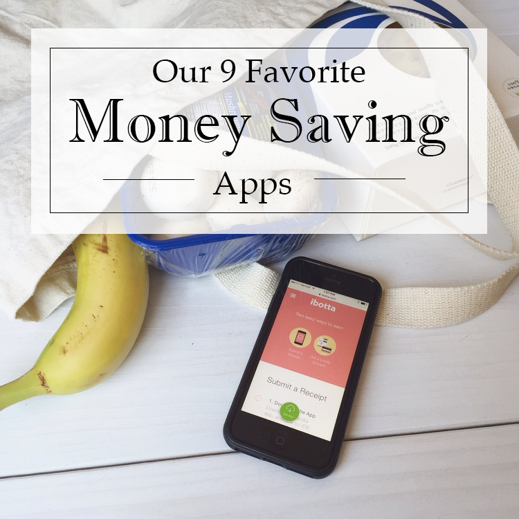 Our 9 Favorite Money Saving Apps