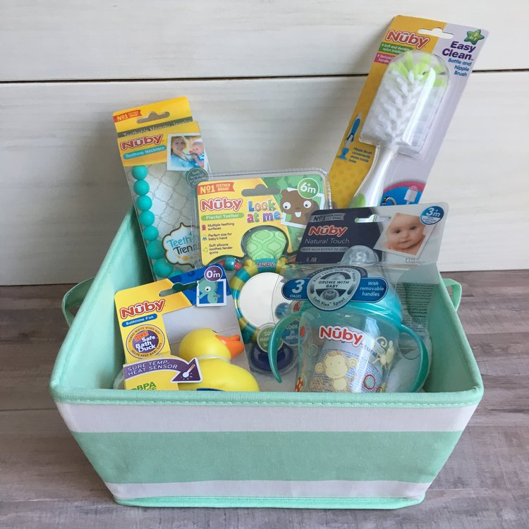 Affordable Baby Shower Gift Basket With Nby Blog Birch Landing Home