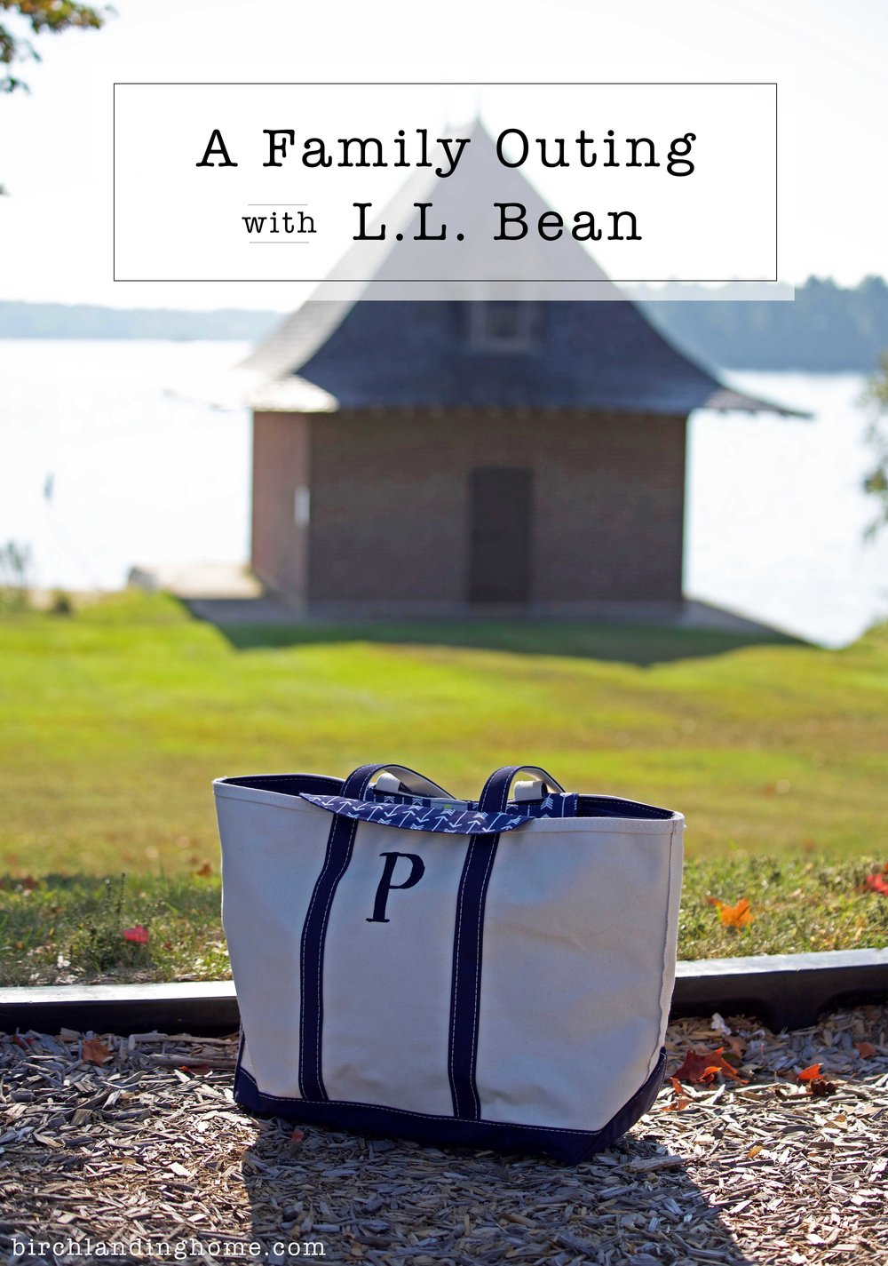 A Family Outing with L.L. Bean - L.L. Bean Diaper Tote Insert and Boat Tote Bag