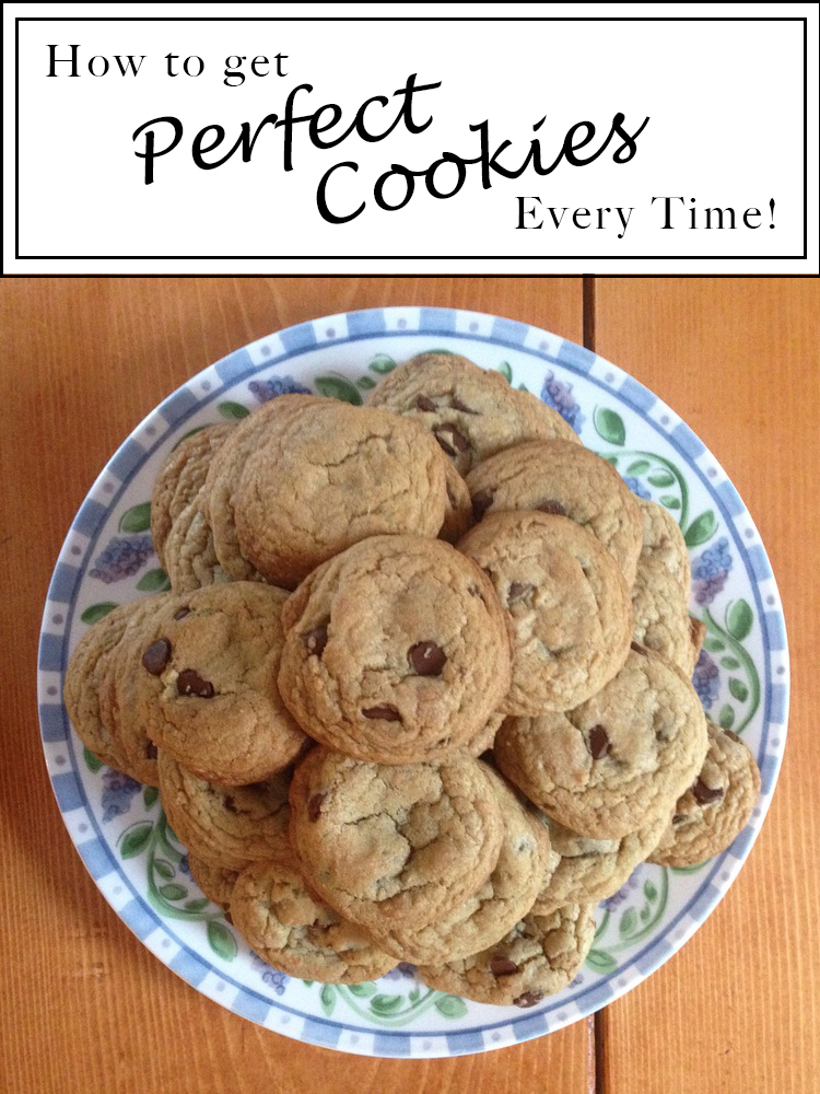 How to Make Perfect Cookies Every Time!