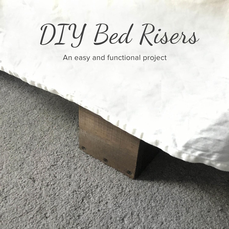 Easy Diy Bed Risers Blog Birch Landing Home