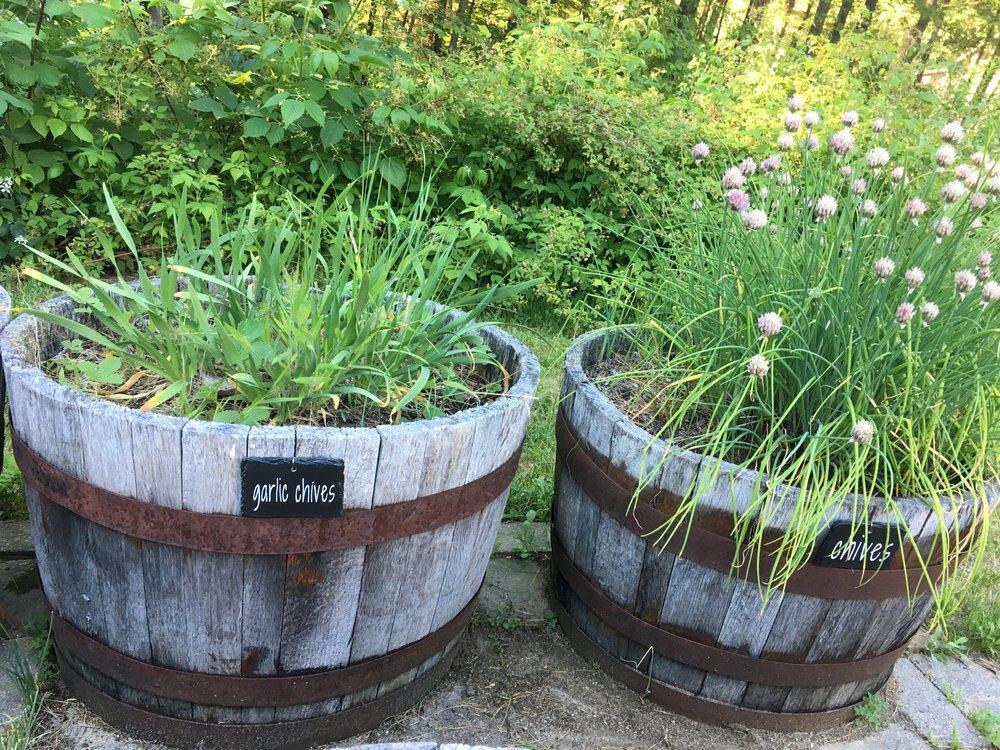 DIY Slate Garden Markers
