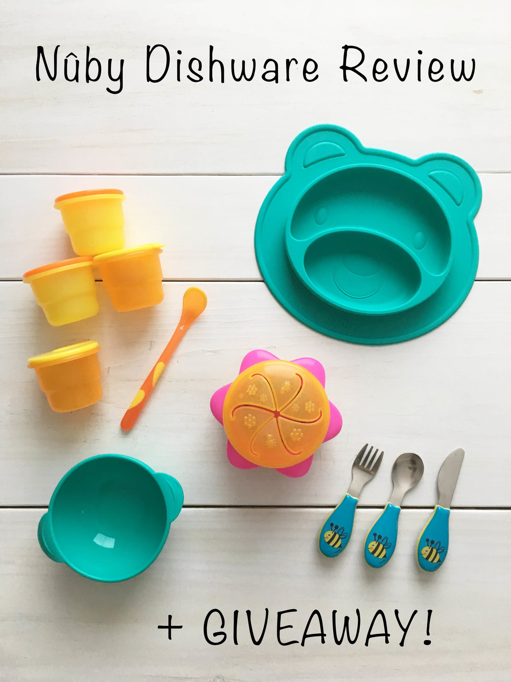 Nuby Dishware Review + GIVEAWAY!
