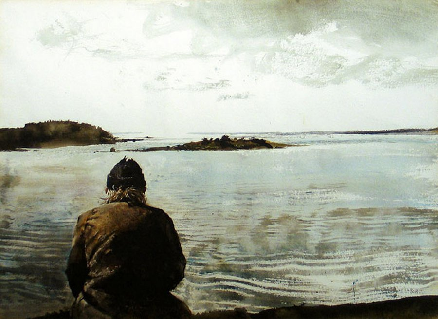 """If we could read the secret history of our enemies, we should find in each man's life sorrow and suffering enough to disarm all hostility.""   Henry Wadsworth Longfellow,  Driftwood    (  Andrew Wyeth,   Baleen  )"