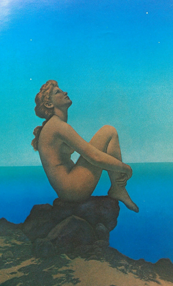 """Everything human is pathetic. The secret source of Humor itself is not joy but sorrow. There is no humor in heaven.""    Mark Twain,  Following the Equator    ( Maxfield Parrish's  Stars )"