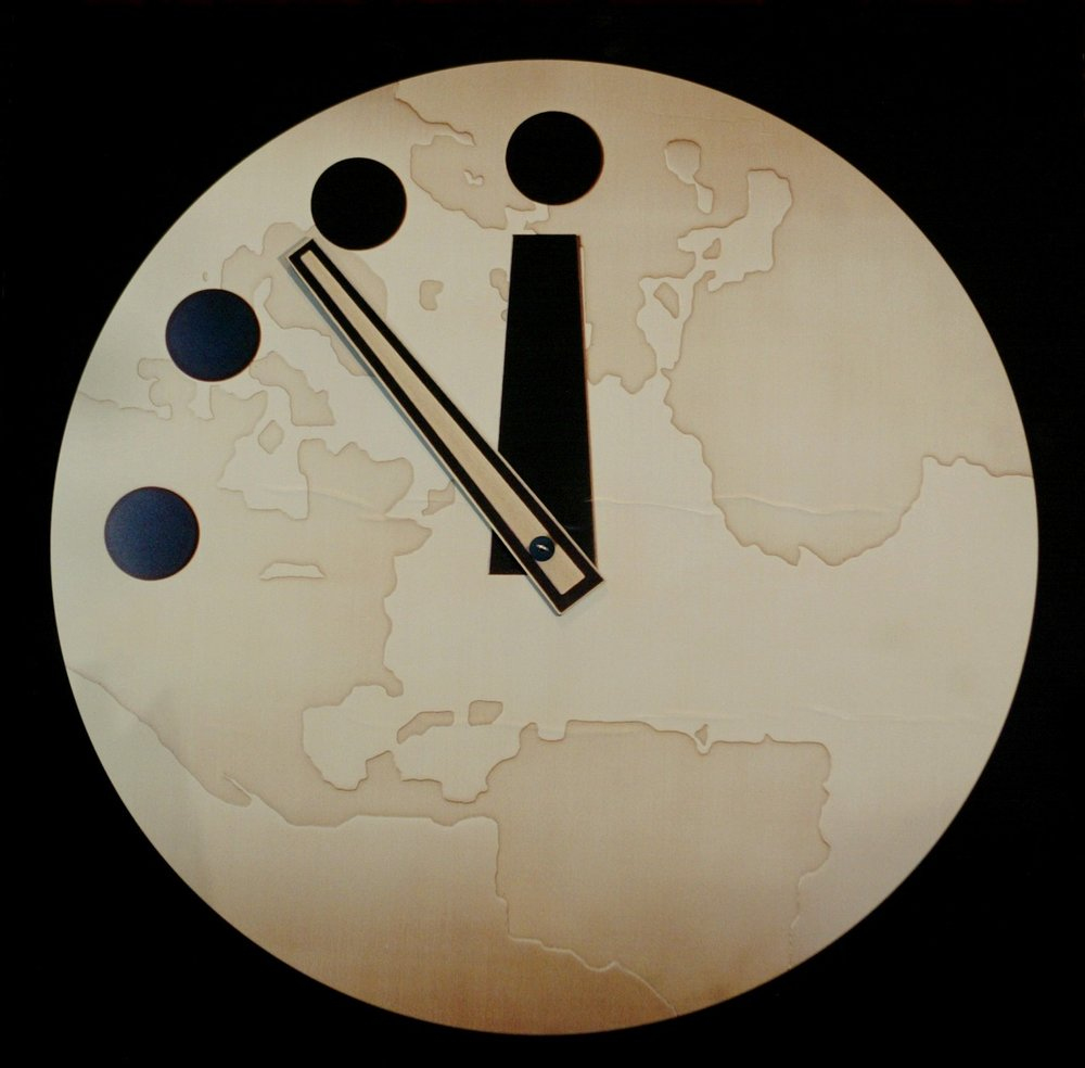 user/aleph473 explains the clock that's been ticking since the start of the Cold War  The face of modern eschatology.