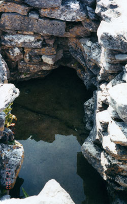 """Pagan"" Ireland used certain springs as places to sacrifice jewelry, coins, pieces of clothing, even swords, in hopes that the spiritual beings or gods of that place would accept their offering and bless them. Later, the Catholic Church took these ""faerie springs"" and, knowing the newly Christianized locals would continue to venerate the place, gave them the church's blessing by naming them after saints and calling them holy wells. People today still leave photographs, cloth, money and candles at these holy wells in order to be healed or to petition God for help."