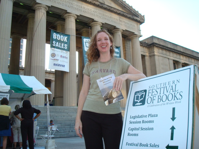 My first Southern Festival of Books
