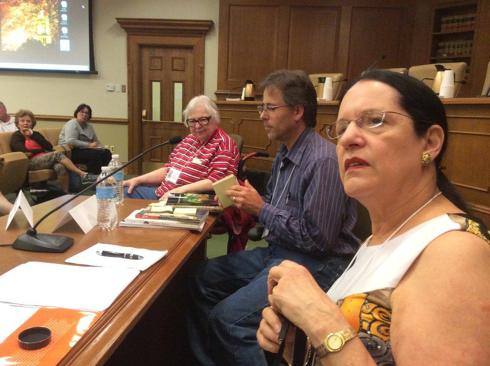 On Panel with Marilyn Kallet, Jeff Hardin, Maggi Vaughn