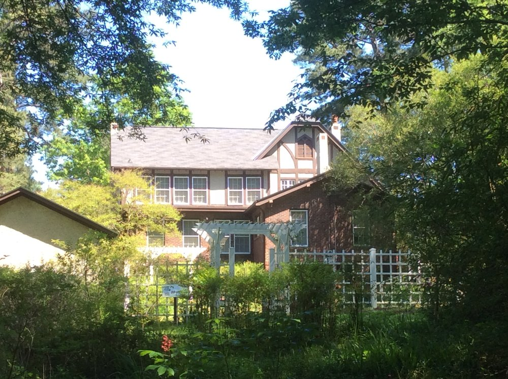 Eudora Welty's home and garden in Jackson, MS