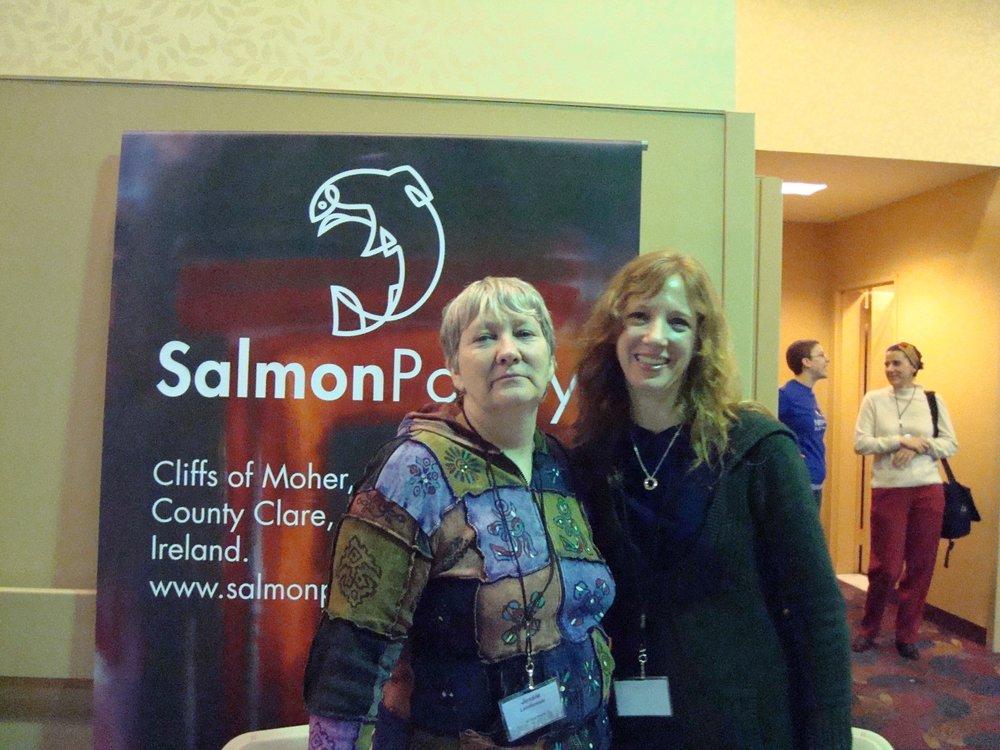 Jessie Lendennie of Salmon Poetry