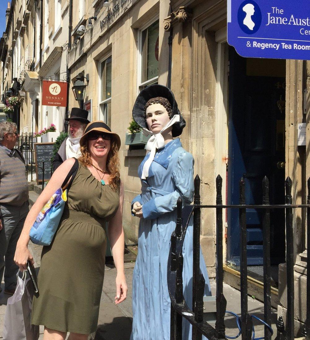 Jane Austen sighting?