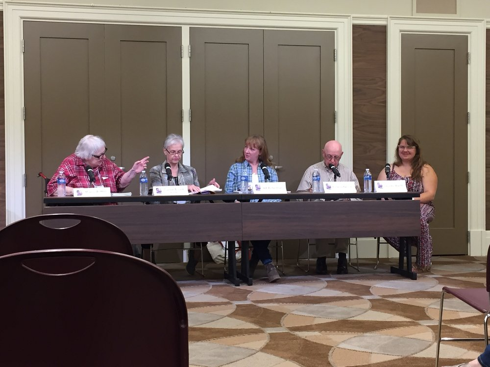 Southern Festival of Books Panel with Maggi Vaughn