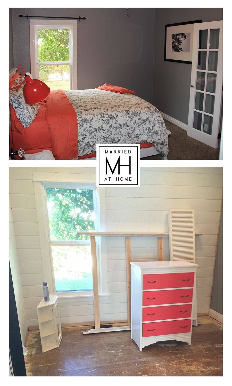 The Shiplap Project | Married At Home