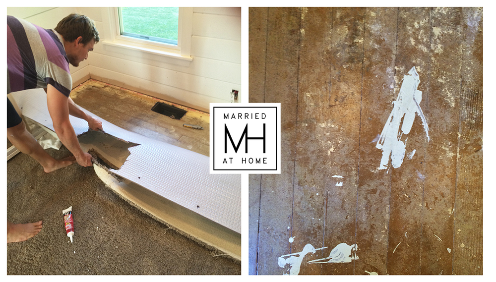 Finding Hardwood Floors | Married At Home