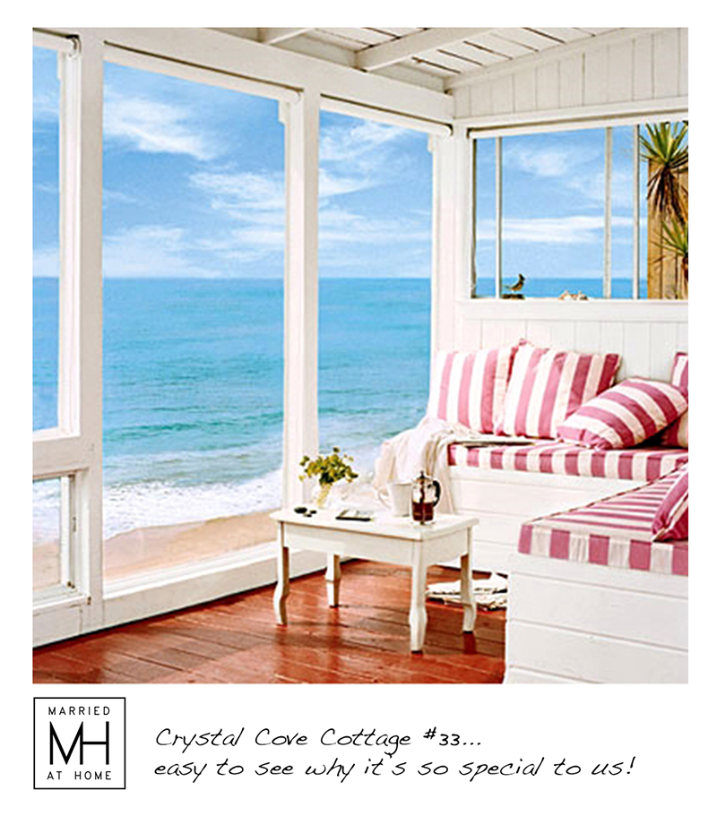 Crystal Cove Cottage | Married At Home
