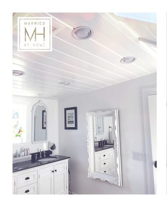 Shiplap Ceilings | Married At Home