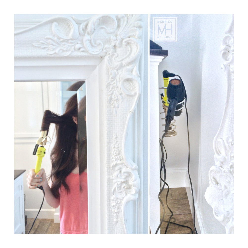 Neon Yellow Hot Tools Curling Iron!   Married At Home