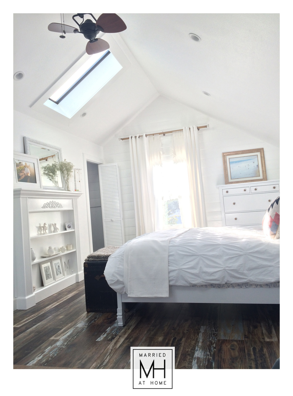 Farmhouse Loft Bedroom Renovation | Married At Home